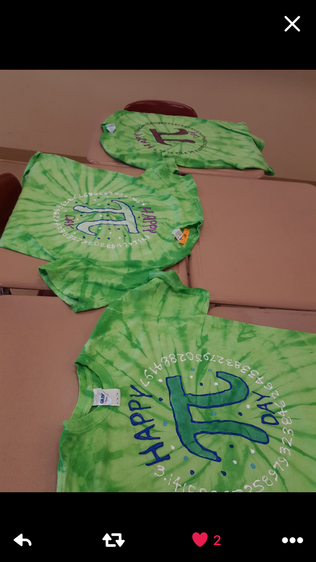 678280fc Here is the shirt our student designed. We got 50 T-shirts donated. Can't  wait to pi-dye them with the students who signed up via google forms for  two ...