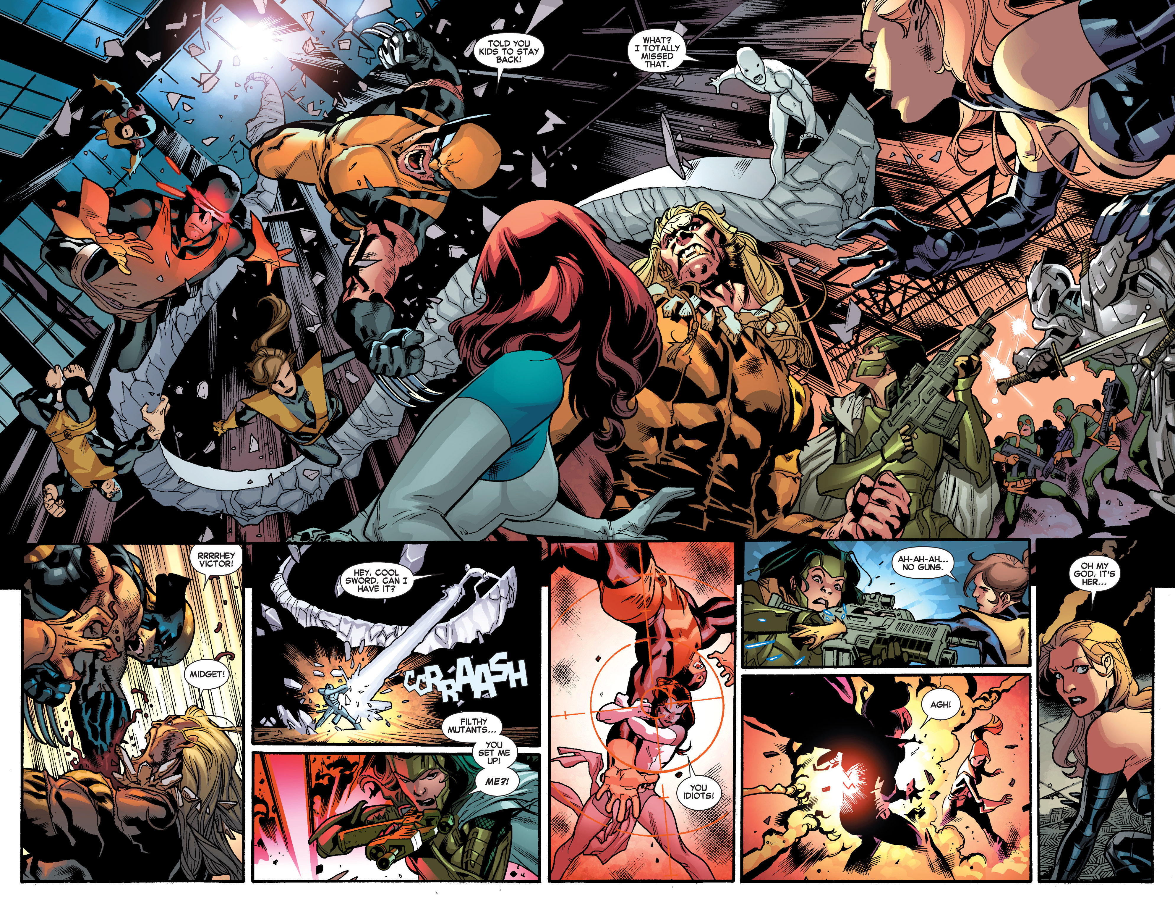 Read online All-New X-Men (2013) comic -  Issue # _Special - Out Of Their Depth - 64