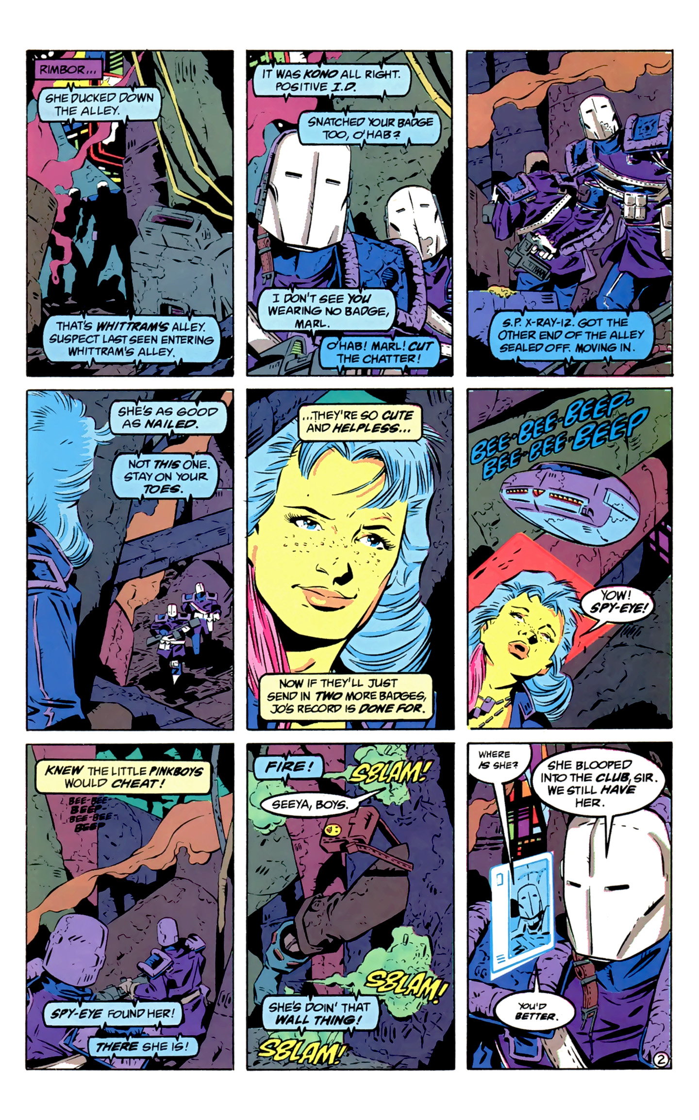 Legion of Super-Heroes (1989) 2 Page 3