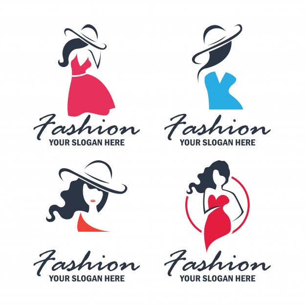 Set of fashion and beauty logo and emblem collection Free Vector