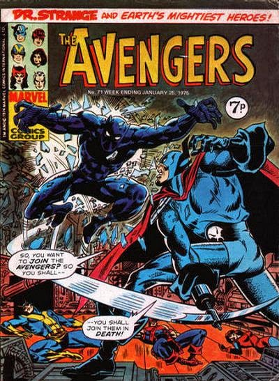 Marvel UK Avengers #71, Grim Reaper