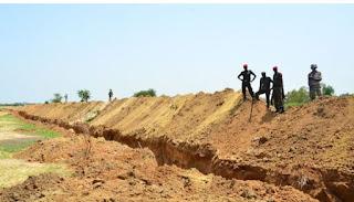 Nigeria Bangun Parit 17 Km