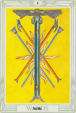 Five of Wands, Thoth