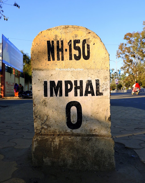 Imphal, Manipur, milestone, India, northeast