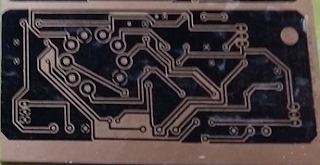 PCB design using Toner but without Heat