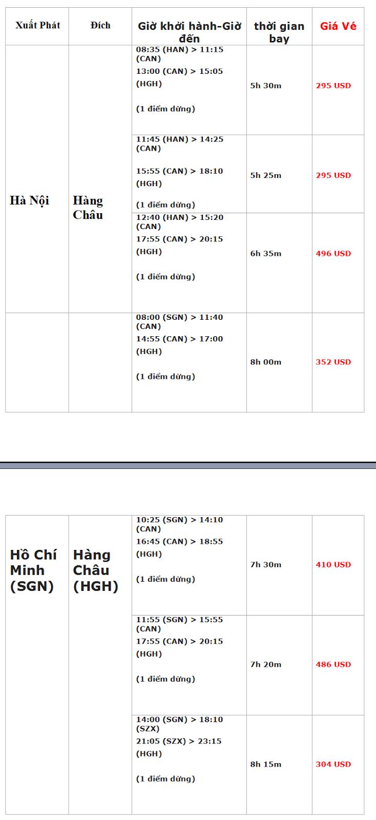 vé máy bay đi Hàng Châu