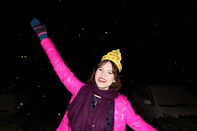 Birthday Chronicles 13/16 - IT SNOWED!