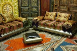 Decoración sala árabe