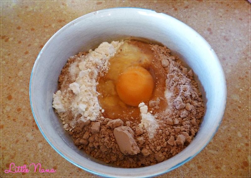 receta facil bizcocho cacao cocina