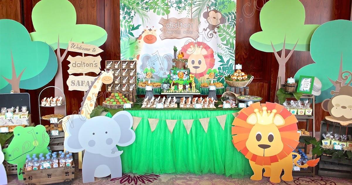 Safari Themed Dessert Table Please Click Post For More