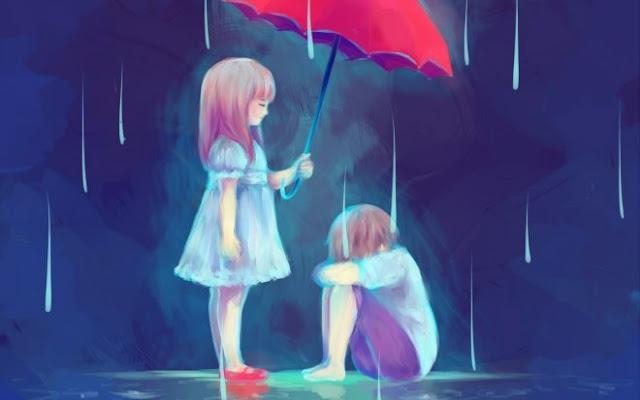 صور حزينة انمي بنات