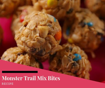 Monster Trail Mix Bites Recipe Idea