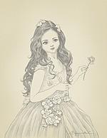 Digital drawing by Biju, Indian Artist from Kerala