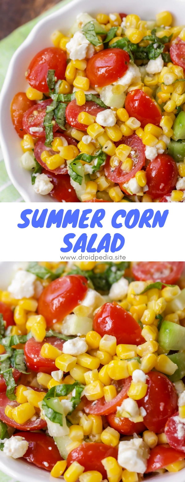 Summer Corn Salad #summer #corn #salad #american #party