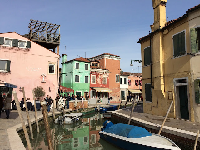 Burano Island Colorful Houses and Canal