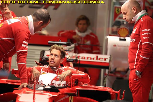 Ferrari SF70H Sebastian Vettel - Foto Octane FUnoAnalisiTecnica