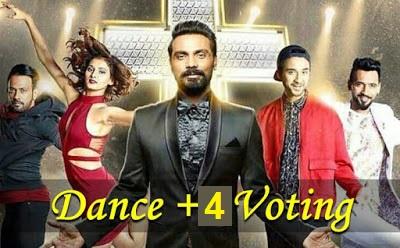 dance plus 4 vote