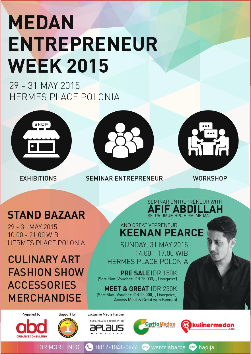 Medan Entrepreneur Week 2015