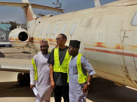 See The Plane Biafra Leader Ojukwu Used In Fleeing From Nigeria During Civil War (Photos)