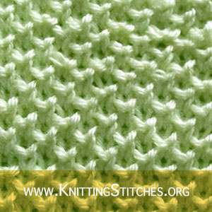 Pearl Brioche | Knitting Stitch Patterns
