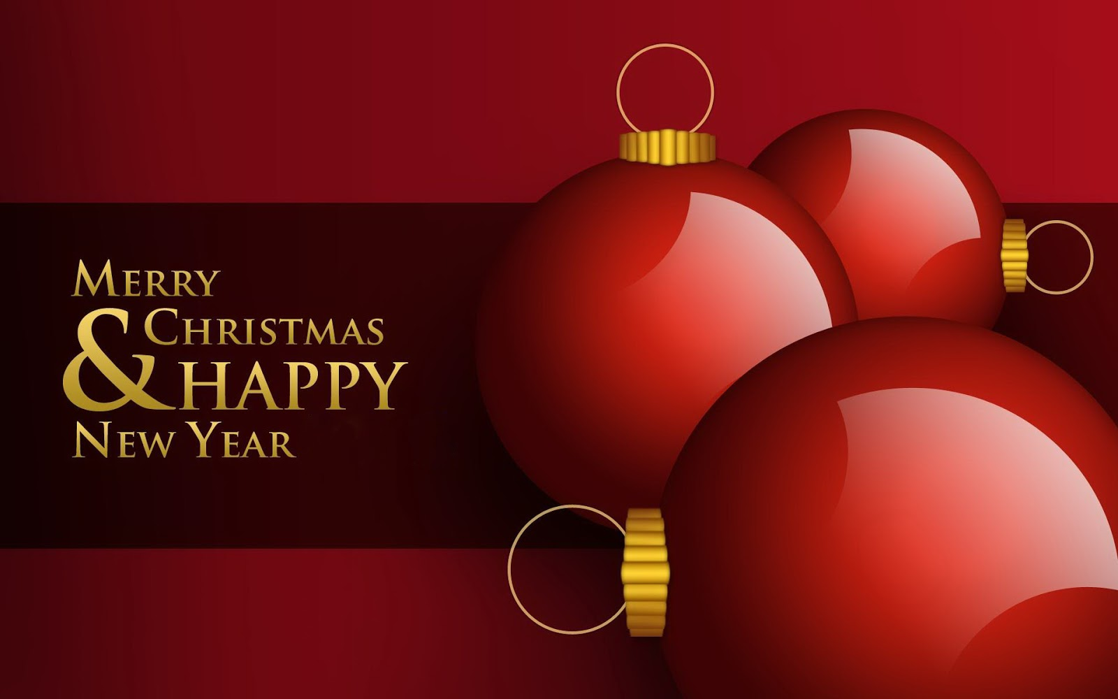 Merry Christmas and Happy New Year Images Free Download