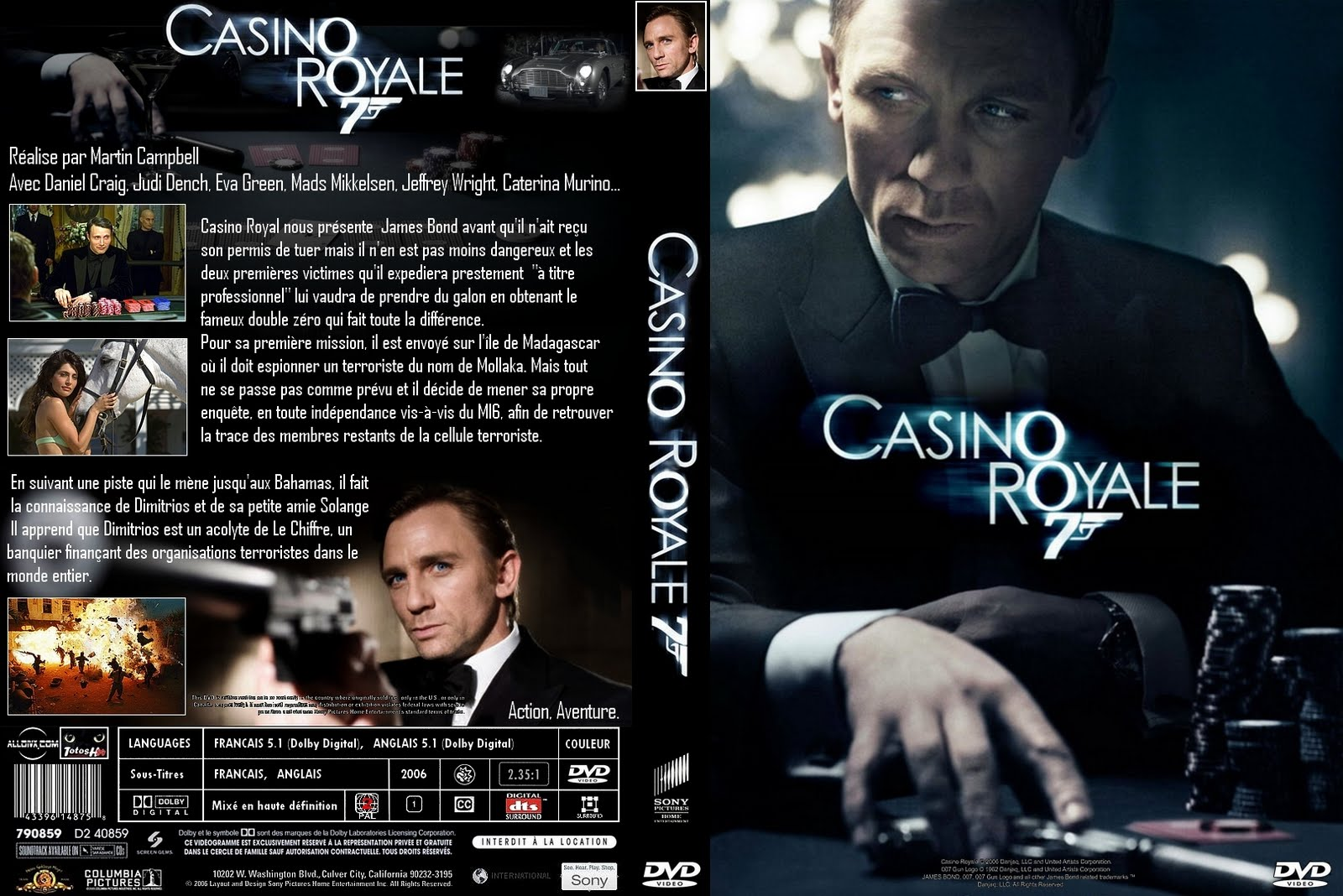 Download Movies for Free: Casino Royale (2006)