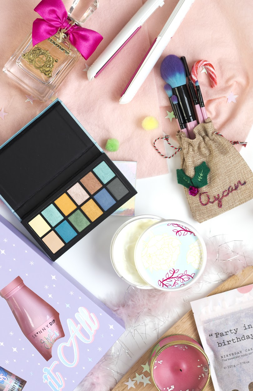 pastel body care beauty gift guide