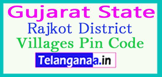 Rajkot District Pin Codes in Gujarat State