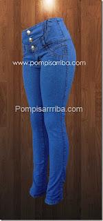 Pantalon colombiano, mayoreo de pantalones, pompis arriba jeans
