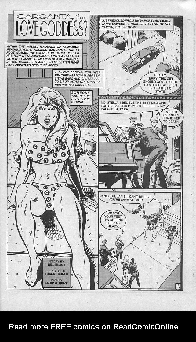 Femforce Issue #46 #46 - English 32