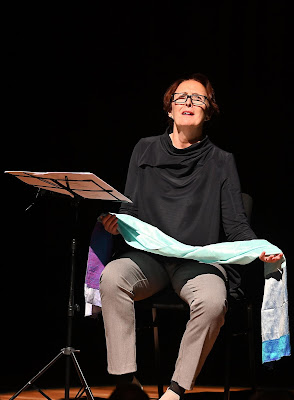 Fiona Shaw at Milton Court 2019 (Photo  Mark Allan / Barbican)