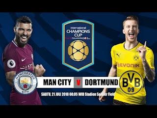 مشاهدة مباراة مانشستر سيتي و بروسيا دورتموند بث مباشر اليوم - كأس الأبطال الودية