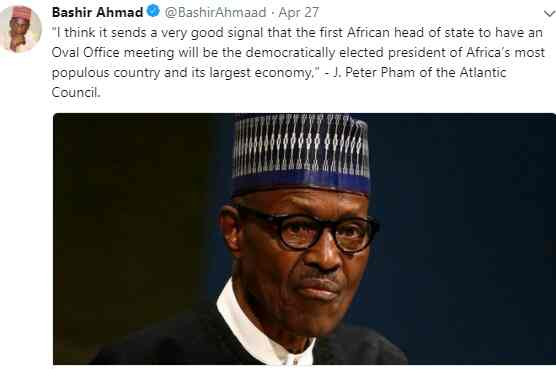 Buhari lied, he's not the first African leader to meet President Trump - Reno Omokri