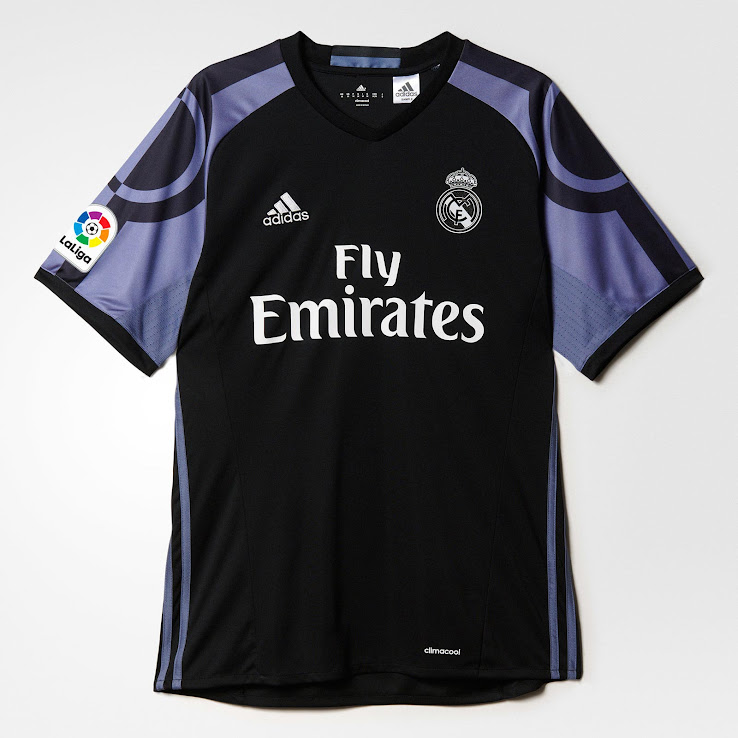 sports shoes ecc9e 9672d Real Madrid 16-17 Third Kit Released - Footy Headlines