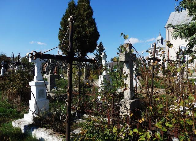 Szegini (Shehyni) - cmentarz. (październik 2015)