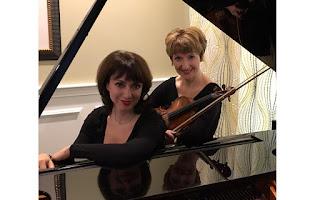violinist Irina Fainkichen and pianist Irina Kotlyar