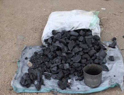 Making Charcoal in Africa