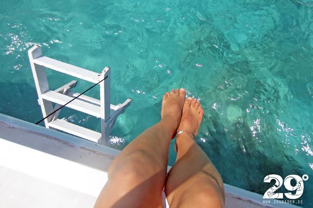Snorkling vid Gili