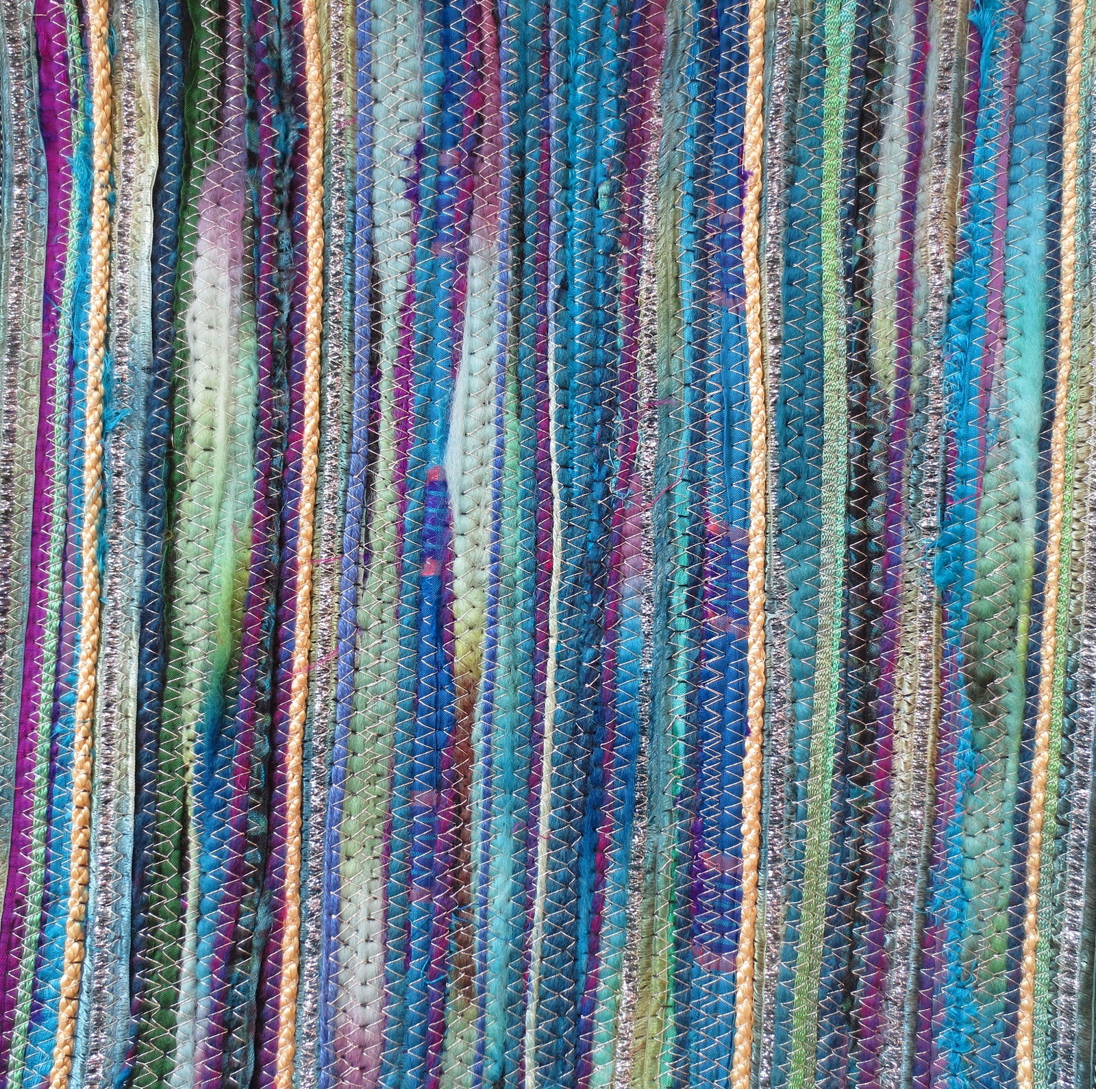 Couch Cord Liz Benjeddi Textile Art: January 2013