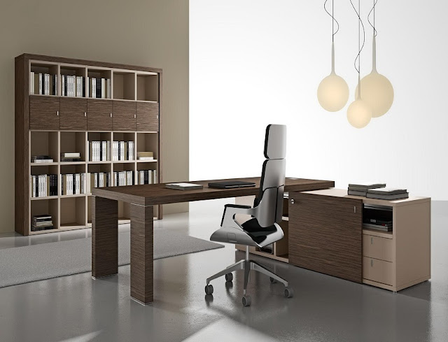 best buy Italian contemporary home office furniture with bookshelves for sale online