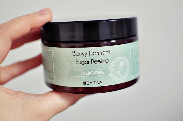 peeling cukrowy, kosmetyk pobudzający ciało, peeling cukrowy