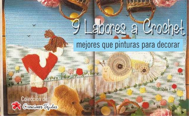 9 Labores a Crochet