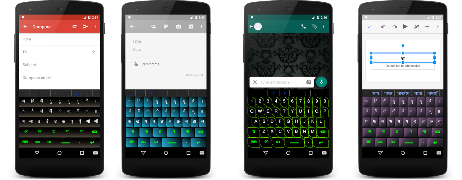Patternlogics: Hindi Keyboard for Android™