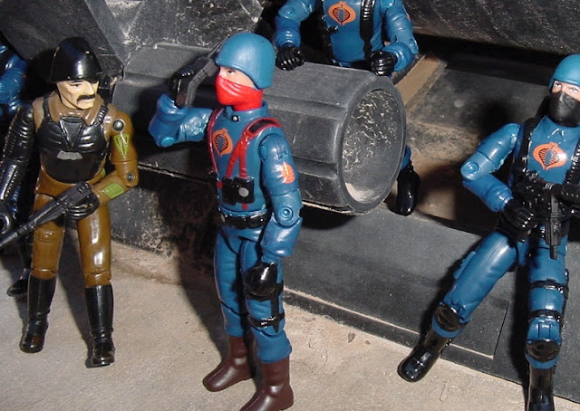 1983 Major Bludd, 2004 Cobra Trooper, Cobra Officer
