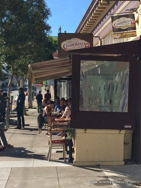 exterior of Cinderella Bakery & Cafe in San Franicsco