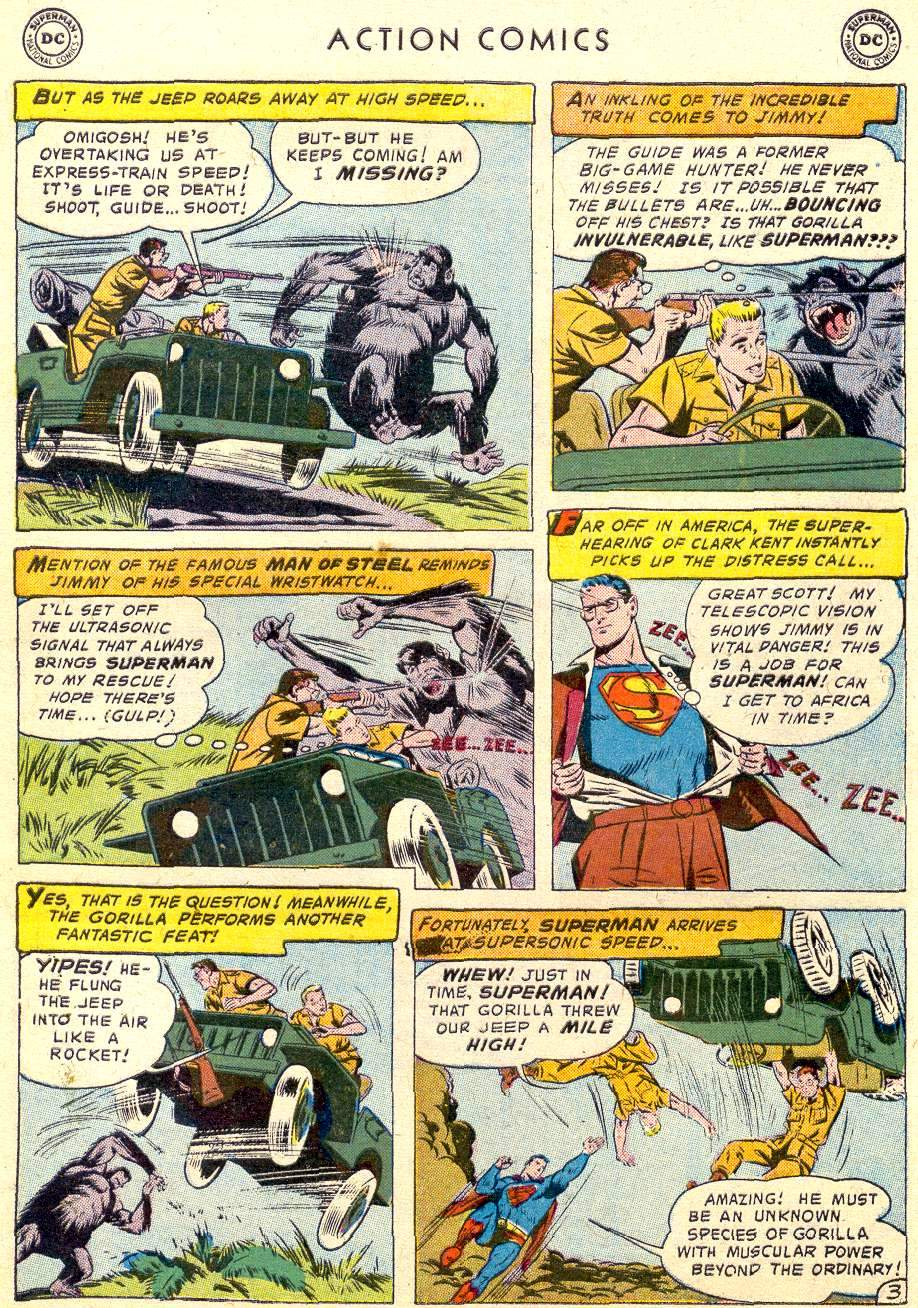 Read online Action Comics (1938) comic -  Issue #238 - 5