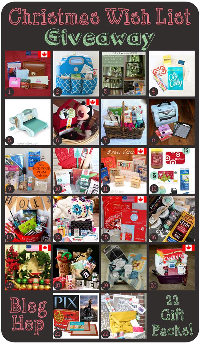 B Is 4 Christmas Wish List Giveaway