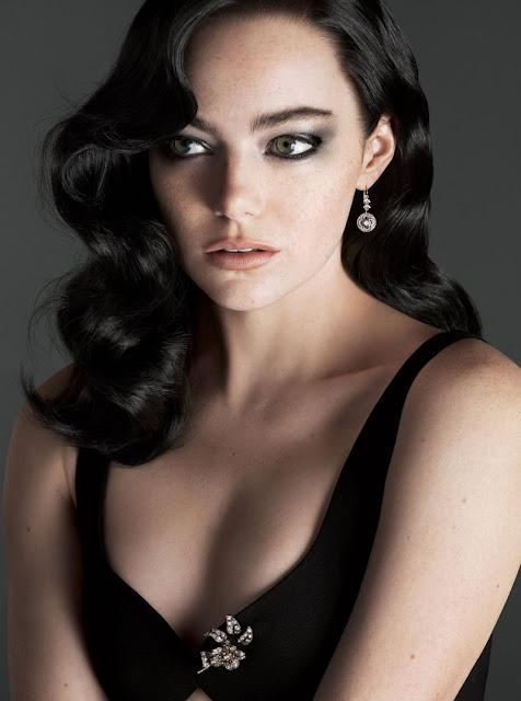 Emma Stone Vogue Magazine Hot Photoshoot