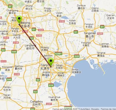 Resultado de imagem para ferrovia Beijing, Tianjin