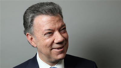 Colombian President, Juan Manuel Santos, awarded the 2016 Nobel Peace Prize